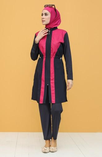 Navy Blue Swimsuit Hijab 1971-01
