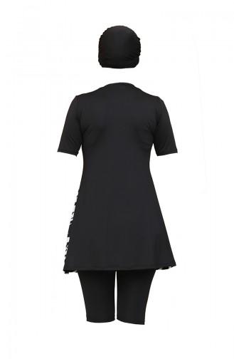 Black Swimsuit Hijab 2030