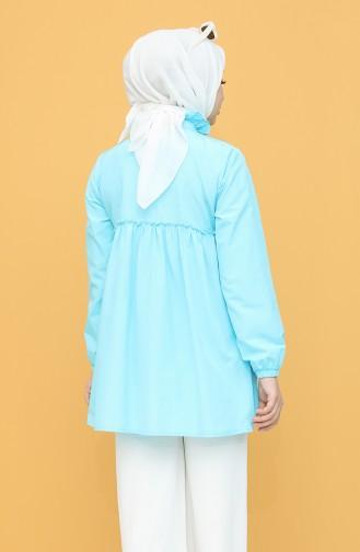 Tunique Turquoise 6513-01
