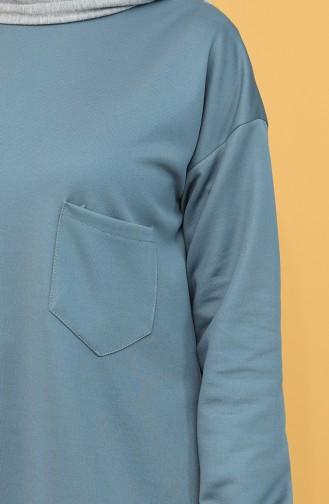 Cepli Sweatshirt 1571-04 İndigo 1571-04