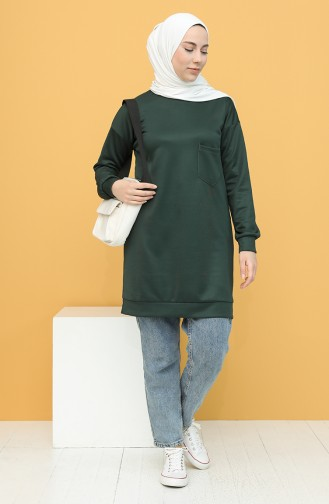 Smaragdgrün Pulli 1571-08