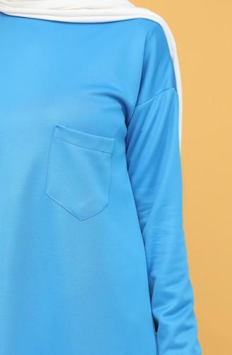 Sweatshirt Bleu 1571-11