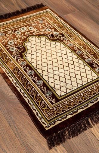 Brown Praying Carpet 0003-05