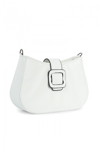 White Shoulder Bags 7000BE