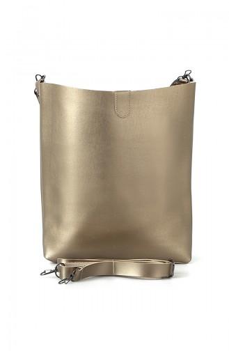 Bayan Omuz Çantası BS7002AL Altın 7002AL