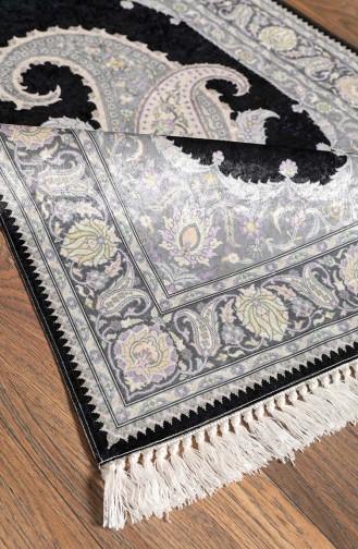Tapis de Prière Noir 1002-05
