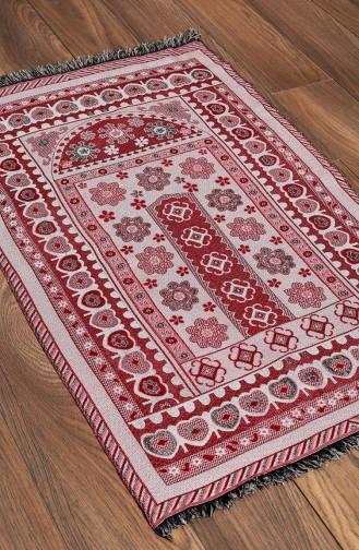 Claret red Praying Carpet 0009-01