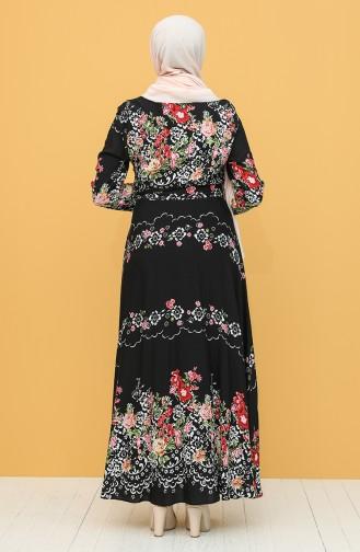 Black Hijab Dress 20Y3034303P-10