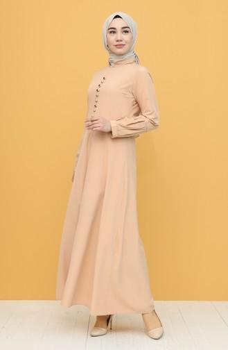 Robe Hijab Pelure d`oignon 2537-01