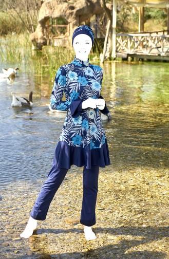 ملابس السباحة أزرق كحلي 2051