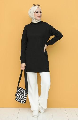 Cepli Sweatshirt 1573A-01 Siyah 1573A-01