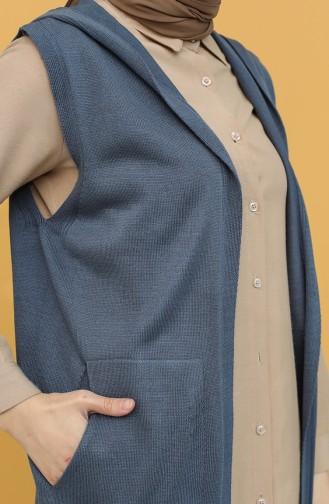 Indigo Waistcoats 4299-09