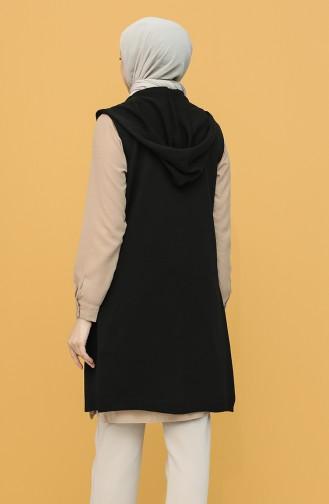 Gilet Sans Manches Noir 4299-10