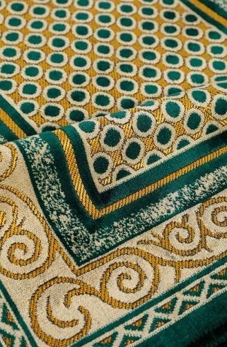 Emerald Praying Carpet 0004-02