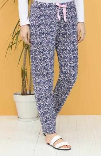 Dunkelblau Pyjama 27308