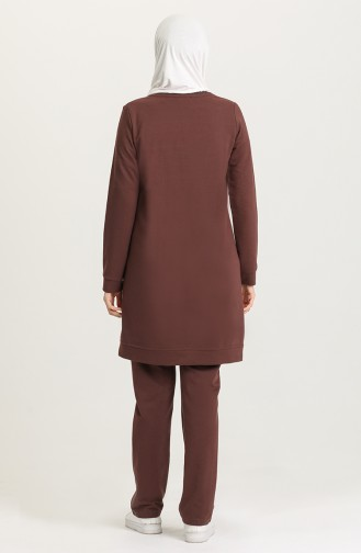 Brown Tracksuit 7035-02