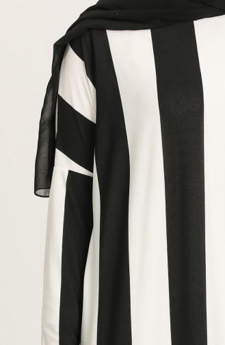 Robe Hijab Noir 8264-01