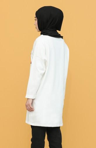 Tunique Blanc 2302-06