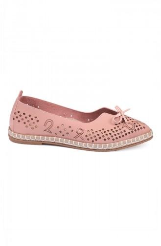 حذاء مسطح باودر 3552-2