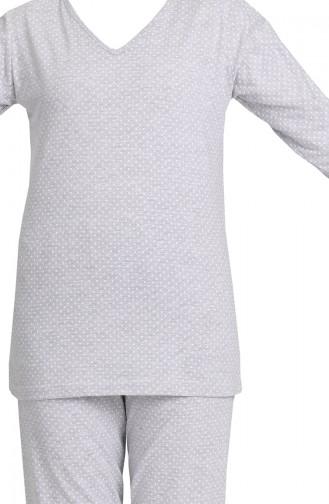 Pyjama Gris 3348