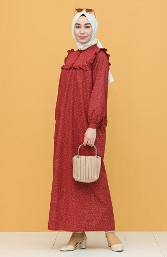 Robe Hijab Bordeaux 21Y8335-07