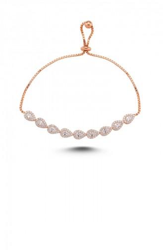 Rosa Haut Armband 1000321170043