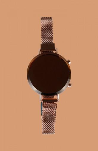 Rose Tan Wrist Watch 19