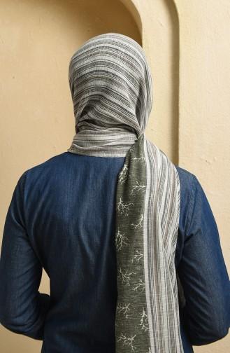 Khaki Shawl 19-0300-12