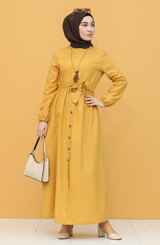 Robe Hijab Tabac 7067-05