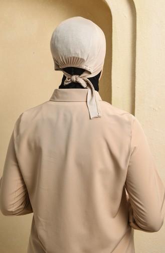Hell-Nerz farbe Bonnet 0315-01