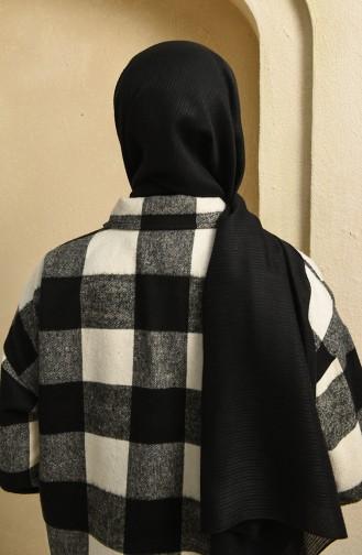 Pamuk Şal 5121-01 Siyah