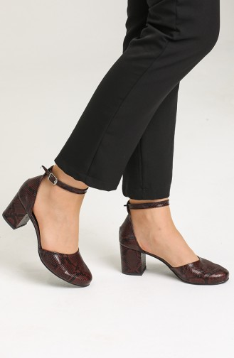 Weinrot Tägliche Schuhe 9115-05