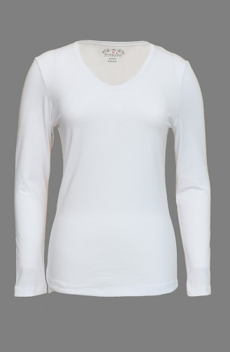 White Bodysuit 0022-01