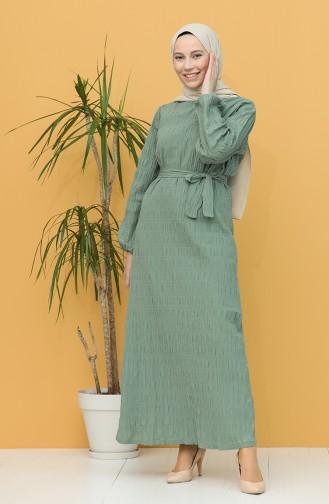 فستان أخضر 5361-02
