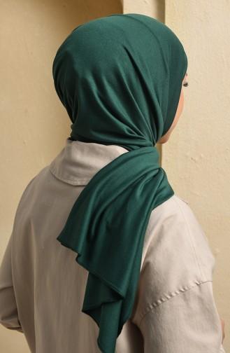 شال أخضر زمردي 13112-44