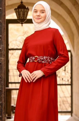 Robe Hijab Bordeaux 8325-05