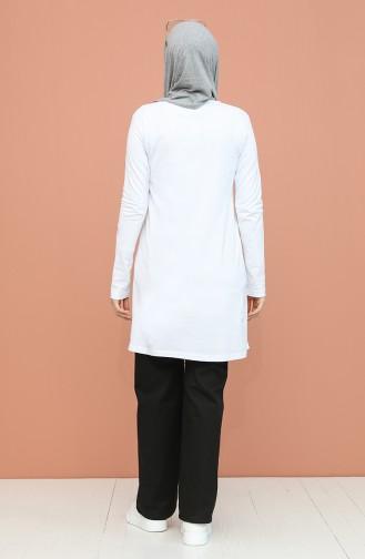 Tunique Blanc 6027-03