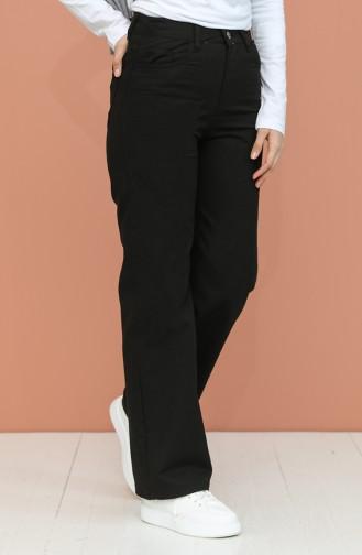 Pantalon Noir 7513-02