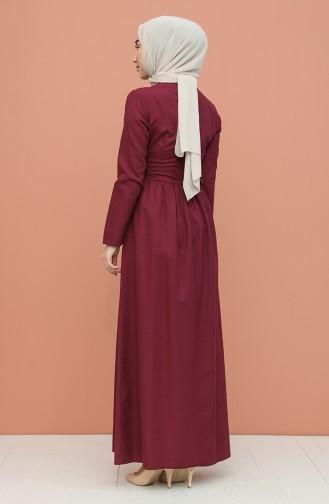 Zwetschge Hijap Kleider 7281-10