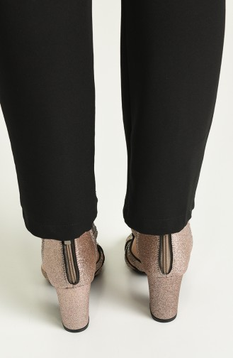 Bayan Topuklu Ayakkabı Y11-6-04 Rose Sim