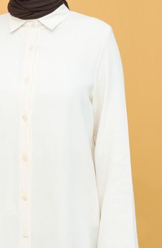 Cream Tunics 15202-08