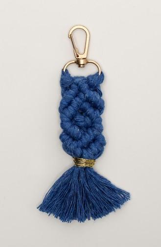 Porte-clés Bleu 005