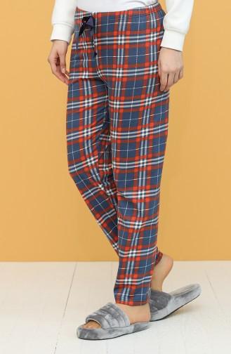 Dunkelblau Pyjama 27310