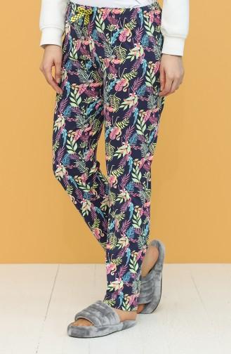Dunkelblau Pyjama 27313