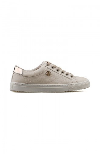 Beige Sport Shoes 100910790