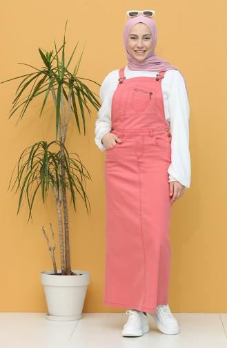 فستان مرجاني 0485-03