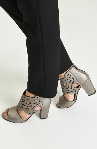 Chaussures a Talons Peau Rose 11-12-04