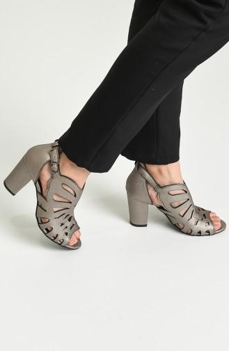 Bayan Topuklu Ayakkabı Y11-5-06 Rose Prada