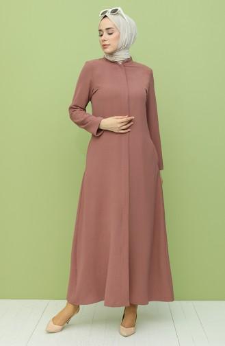 Abayas Rose Pâle 1022-03