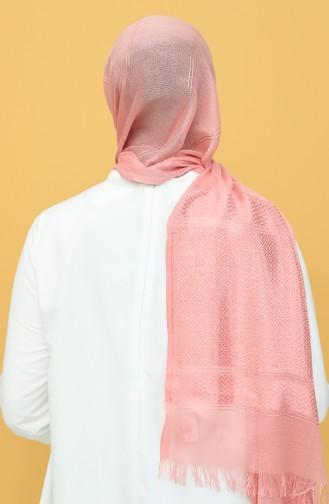 شال وردي باهت فاتح 55032-05